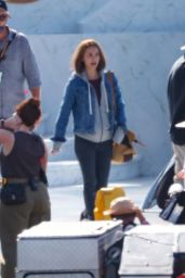 Natalie Portman on Set During Filming in Sydney 03/05/2021