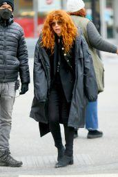 "Natasha Lyonne - Filming ""Russian Doll"" Season 2 in New York 03/16/2021"