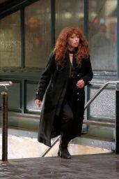 "Natasha Lyonne - ""Russian Doll"" Set at Astor Place Subway Station in New York 03/08/2021"