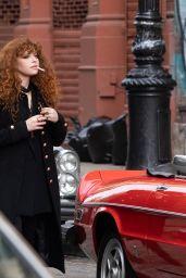 "Natasha Lyonne - ""Russian Doll"" Set in NYC 03/25/2021"