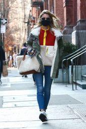 Nicky Hilton Street Style  Manhattan 03/09/2021