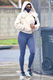 Nicole Murphy in Tights - Los Angeles 03/15/2021