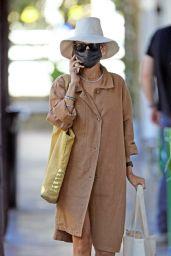 Nicole Richie Wearing Earthy-Ensamble in LA 03/29/2021