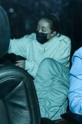 Noah Cyrus at BOA Steakhouse in West Hollywood 03/06/2021