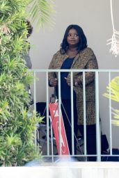 "Octavia Spencer - ""Truth Be Told"" Filming in LA 03/18/2021"