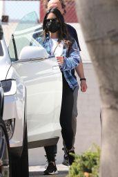 Olivia Munn - Outside Her Gym in Santa Monica 03/22/2021