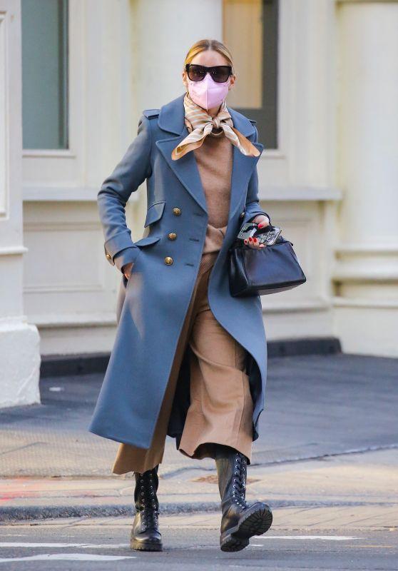 Olivia Palermo Looks Stylish - New York 03/04/2021
