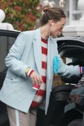 Olivia Wilde in Casual Outfit in London 03/26/2021