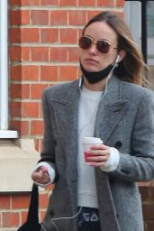 Olivia Wilde - Out in London 03/24/2021