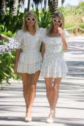 Paris Hilton and Nicky Hilton - W Hotel in Miami Beach 03/24/2021