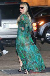 Paris Hilton at Nobu in Malibu 03/06/2021