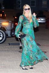 Paris Hilton at Nobu in Malibu 03/06/2021