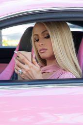 Paris Hilton in Lanvin Outfit - Beverly Hills 03/16/2021