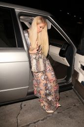 Paris Hilton Night Out Style - West Hollywood 03/08/2021