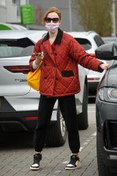 Phoebe Dynevor - Shopping in Manchester 03/28/2021