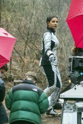 "Priyanka Chopra - ""Citadel"" Filming Set in London 03/09/2021"