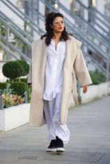 Priyanka Chopra in Comfy Outfit - London 02/28/2021