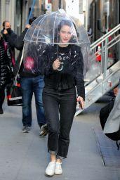 """Rachel Brosnahan - """"The Marvelous Mrs Maisel"""" Set in Manhattan 03/23/2021"""