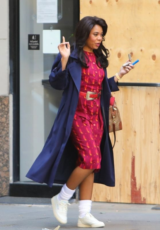 "Regina Hall - ""Black Monday"" TV Series Set in LA 03/24/2021"