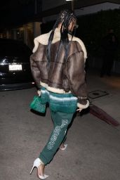 Rihanna Night Out Style - Giorgio Baldi in Santa Monica 03/11/2021