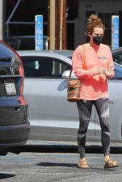 Riley Keough in Tights - Los Angeles 03/09/2021