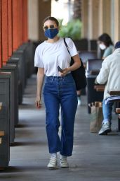 Rooney Mara in Casual Outfit in Los Angeles 03/30/2021