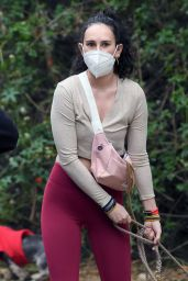 Rumer Willis and Demi Moore - Out for a Hike in LA 03/09/2021