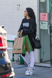 Rumer Willis at Pet Store in Beverly Hills 03/18/2021