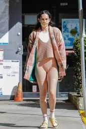 Rumer Willis in a Gym Outfit - West Hollywood 03/22/2021
