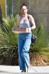 Rumer Willis - Shopping for Fresh Flowers in LA 03/05/2021