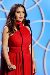 Salma Hayek – 2021 Golden Globe Awards