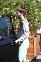 Sara Sampaio at Urth Caffe in West Hollywood 03/09/2021