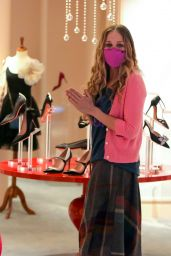 Sarah Jessica Parker at the SJP By Sarah Jessica Parker Store in NY 03/07/2021