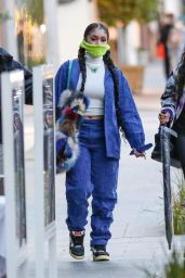 Saweetie - Heads to Dinner at Avra in Beverly Hills 03/10/2021