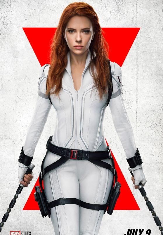 "Scarlett Johansson - ""Black Widow"" Poster and Final Trailer"