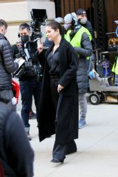 "Selena Gomez - ""Only Murders In The Building"" Filming Set in New York 03/10/2021"