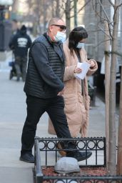 "Selena Gomez -""Only Murders in The Building"" Set in NYC 03/10/2021"