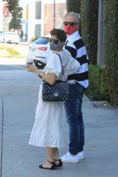 Selma Blair With Her Boyfriend Ron Carlson - West Hollywood 03/05/2021