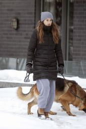 Shailene Woodley - Out in Montreal 02/25/2021