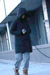 Shailene Woodley - Walking Her Dog in Montreal 03/16/2021