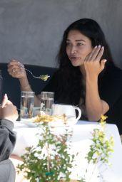 Shanina Shaik at Crossroads Kitchen in LA 03/03/2021