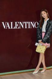 Shin Se Kyung - Valentino Romanstud Pop-Up Store Opening Event 02/28/2021