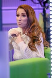 Stacey Solomon on BBC The One Show in London 02/25/2021