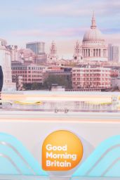 Susanna Reid - Good Morning Britain TV Show in London 03/29/2021