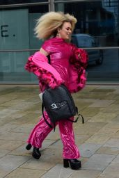 Tallia Storm in Pink - Leaves Saturday Mash Up in Salford 03/13/2021
