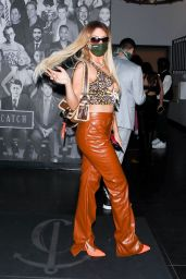 Tana Mongeau at Catch LA in West Hollywood 03/26/2021