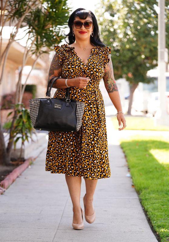 Tania Estrada at JAM Studios in LA 03/16/2021