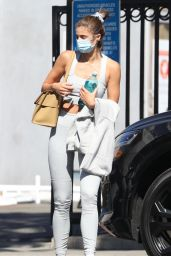 Taylor Hill in Workout Outfit - Beverly Hills 03/02/2021