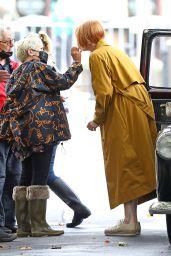 Tilda Swinton With Her Short Bob Cut Hair - Sydney 03/19/2021
