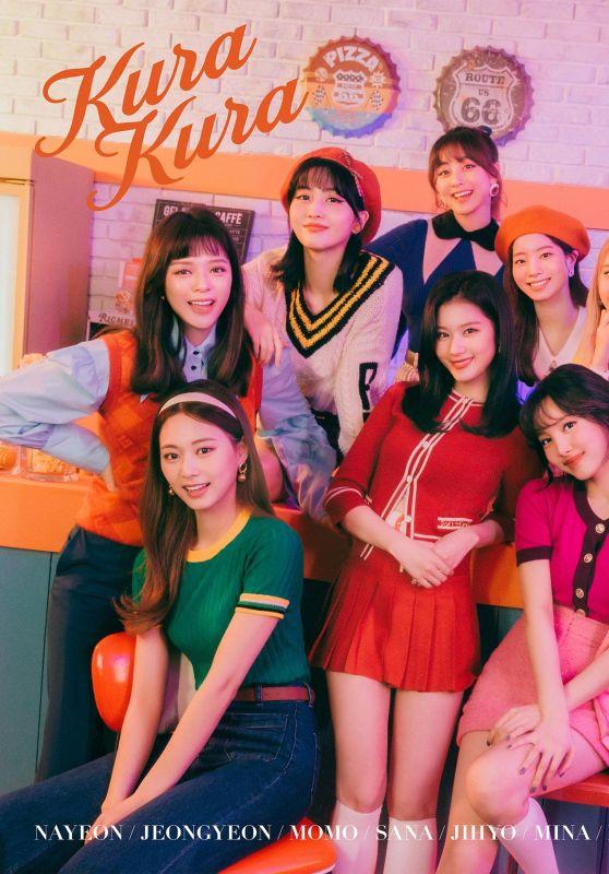 "Twice - 8th Japan Single ""Kura Kura"" Teaser Photos 2021"